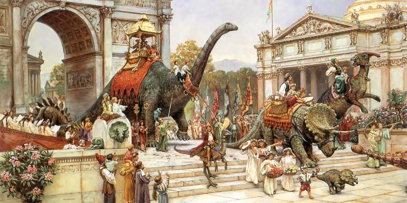 Что было бы если бы динозавры не вымерли