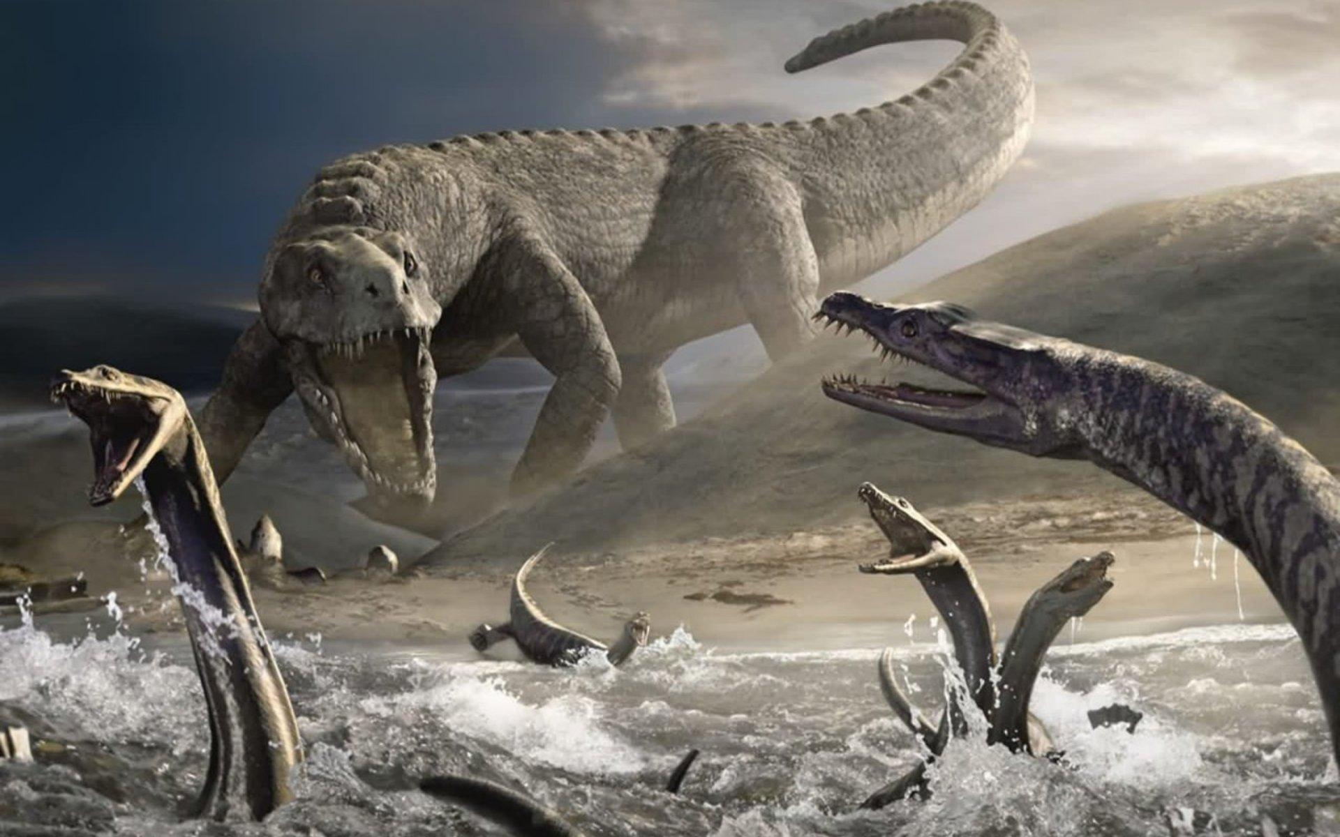 Как на земле появились динозавры, как появились динозавры на земле