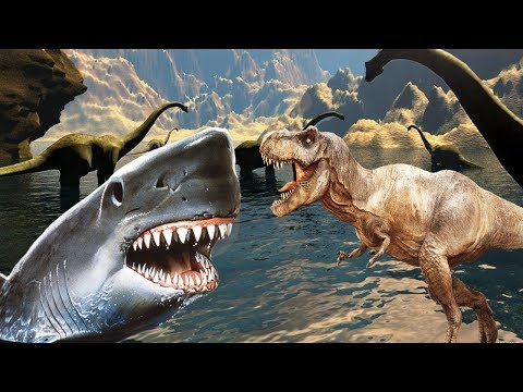 Акулы и динозавры мультики, динозавры и акулы мультики