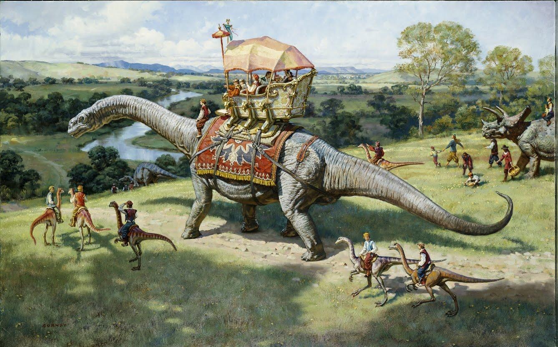Динозавры и люди жили в одно время, люди и динозавры жили в одно время, противники теории эволюции