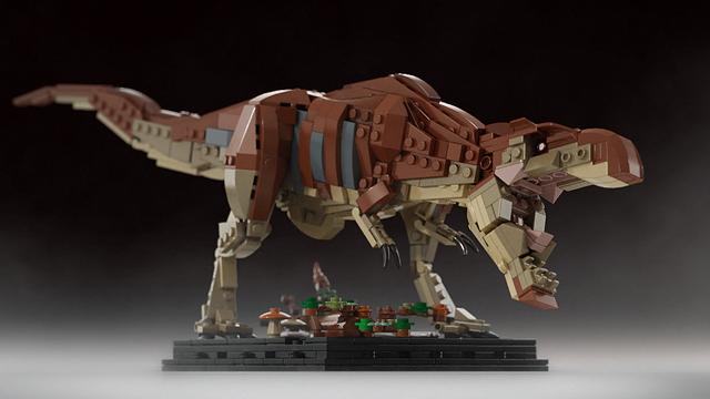 Лего динозавры самоделки