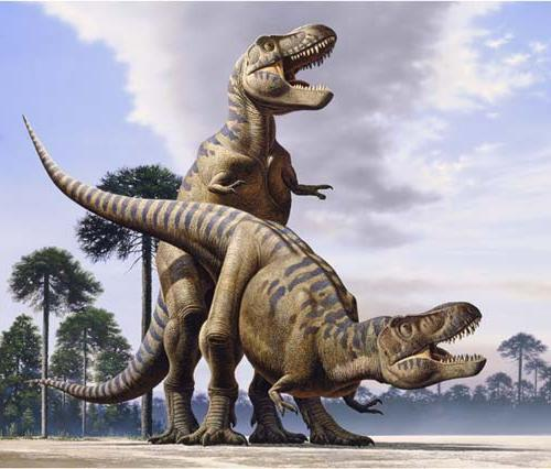 Секси динозавр