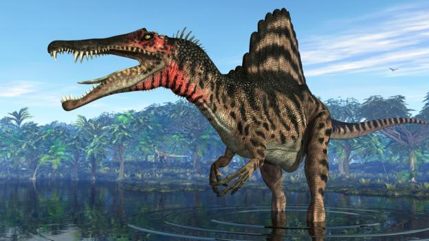 Спинозавр, спинозавр фото