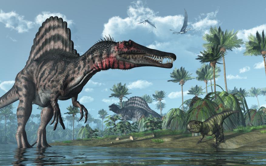 Фото спинозавра
