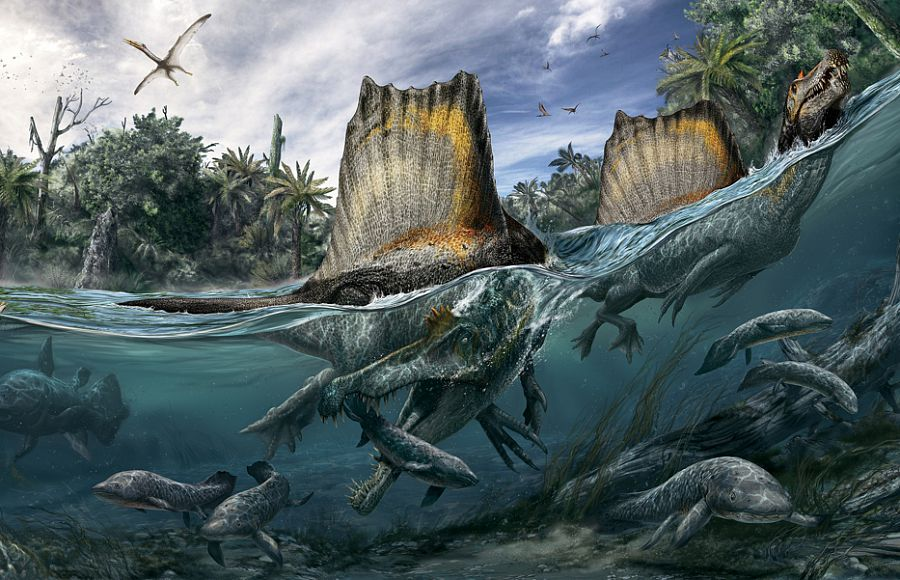 Водные динозавры, подводные динозавры