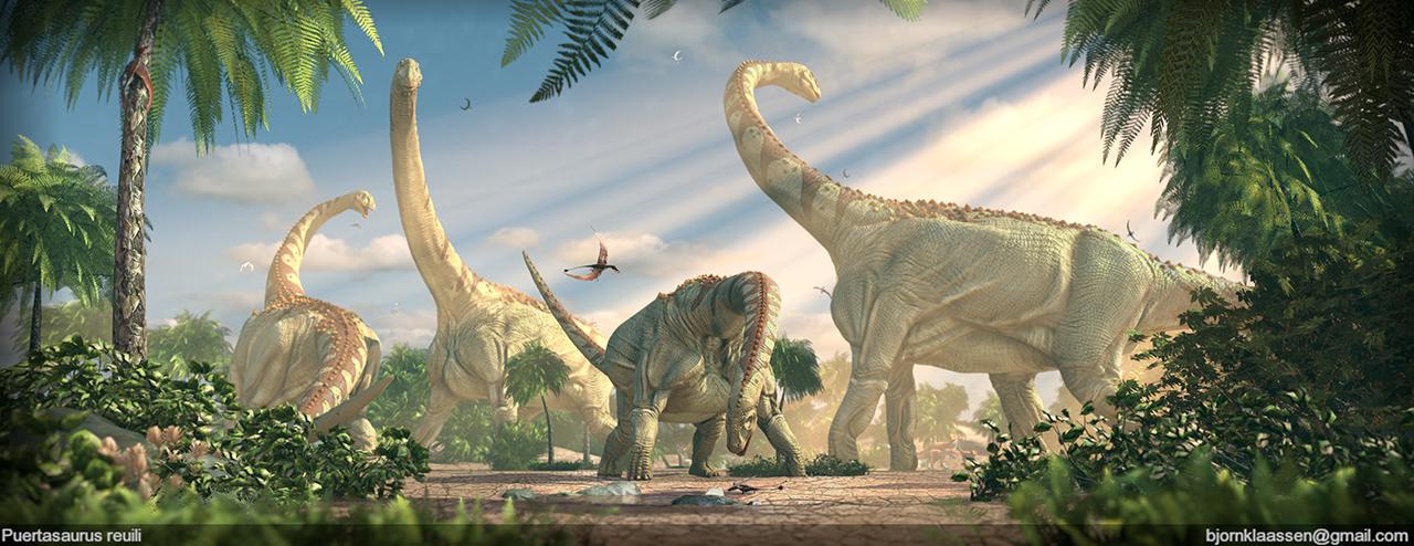 Динозавр травоядный самый большой