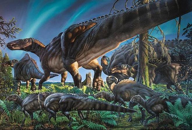 Динозавр с длинной шеей название, динозавр с длинной шеей травоядный