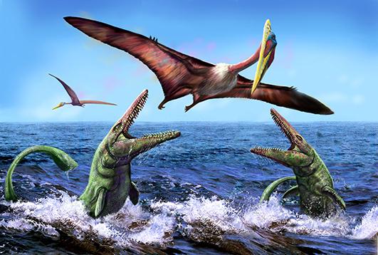 Летающий динозавр название