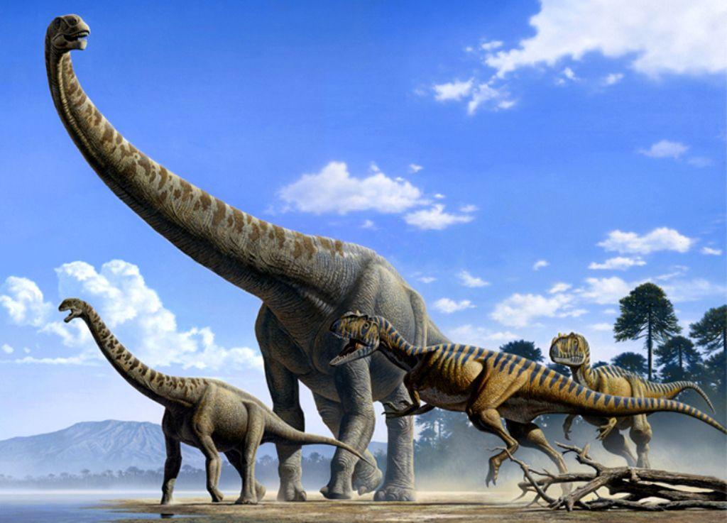 Самые большие динозавры в мире