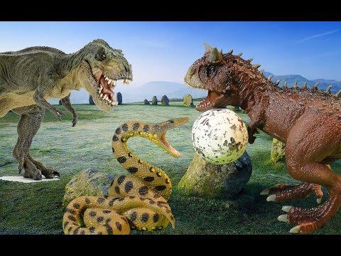 Карнотавр против тиранозавра