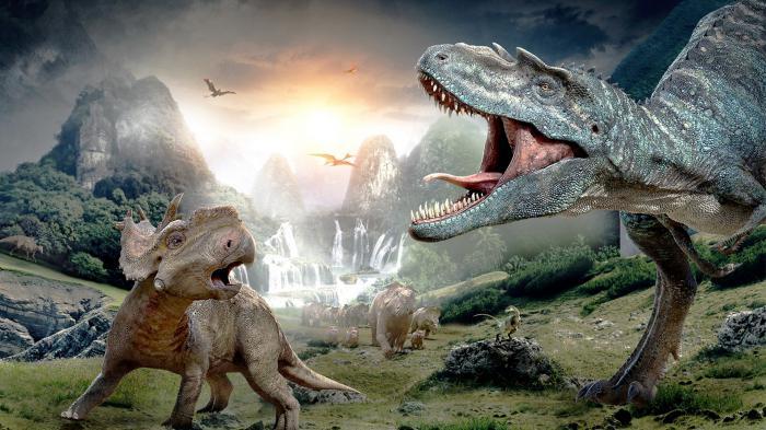 Динозавры история происхождения