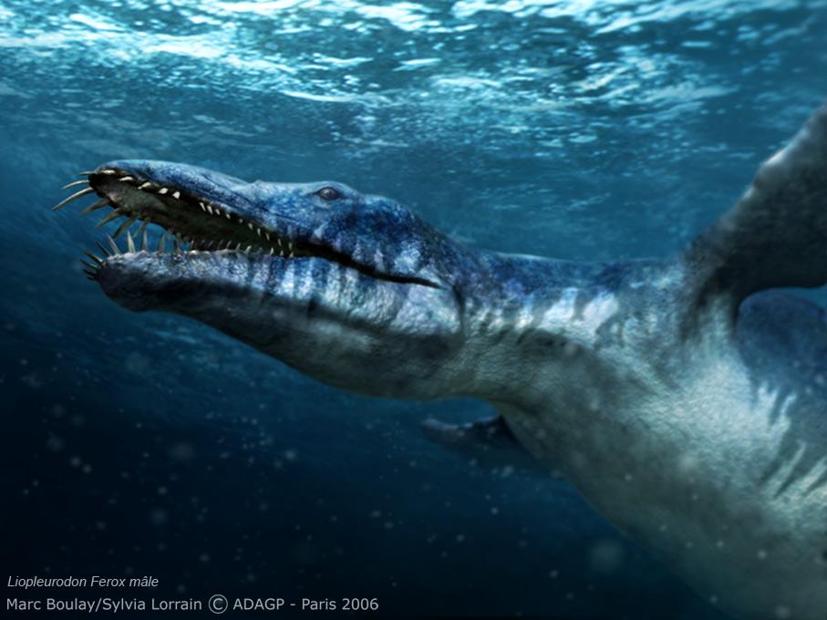 Самый большой морской динозавр