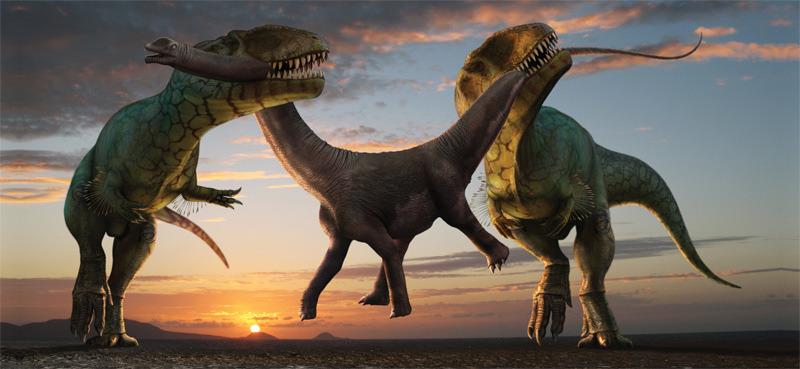 Самые большие хищные динозавры