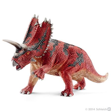 Динозавр с рогом на голове как называется