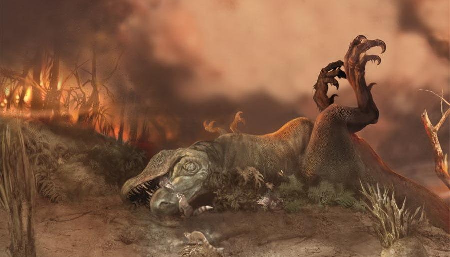 В каком году вымерли динозавры