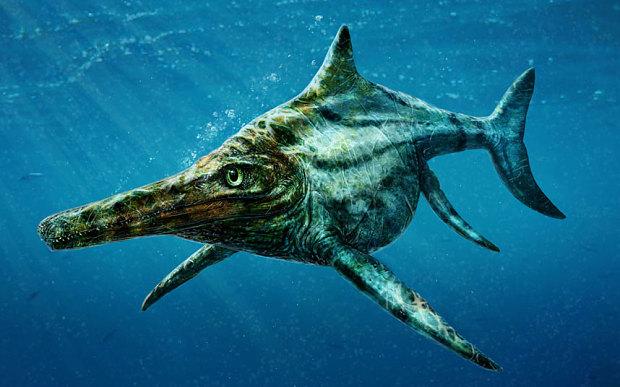 Ихтиозавр среда обитания и образ жизни