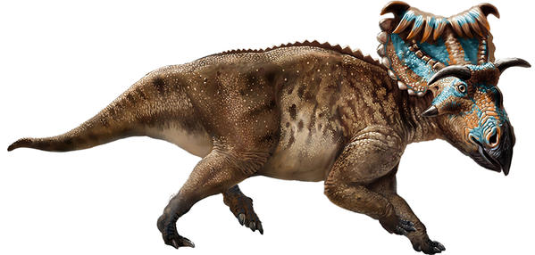Динозавр носорог