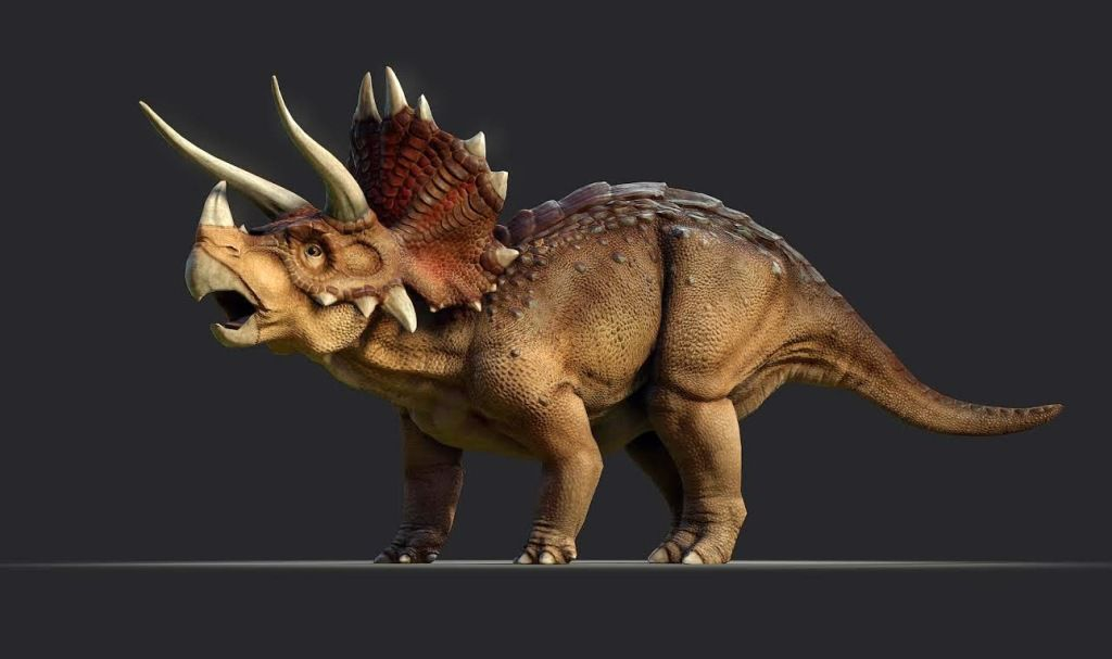 Динозавр похожий на носорога