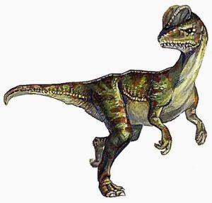 Динозавр с капюшоном на шее название