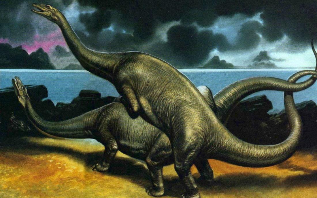 Секс динозавров, секс с динозаврами