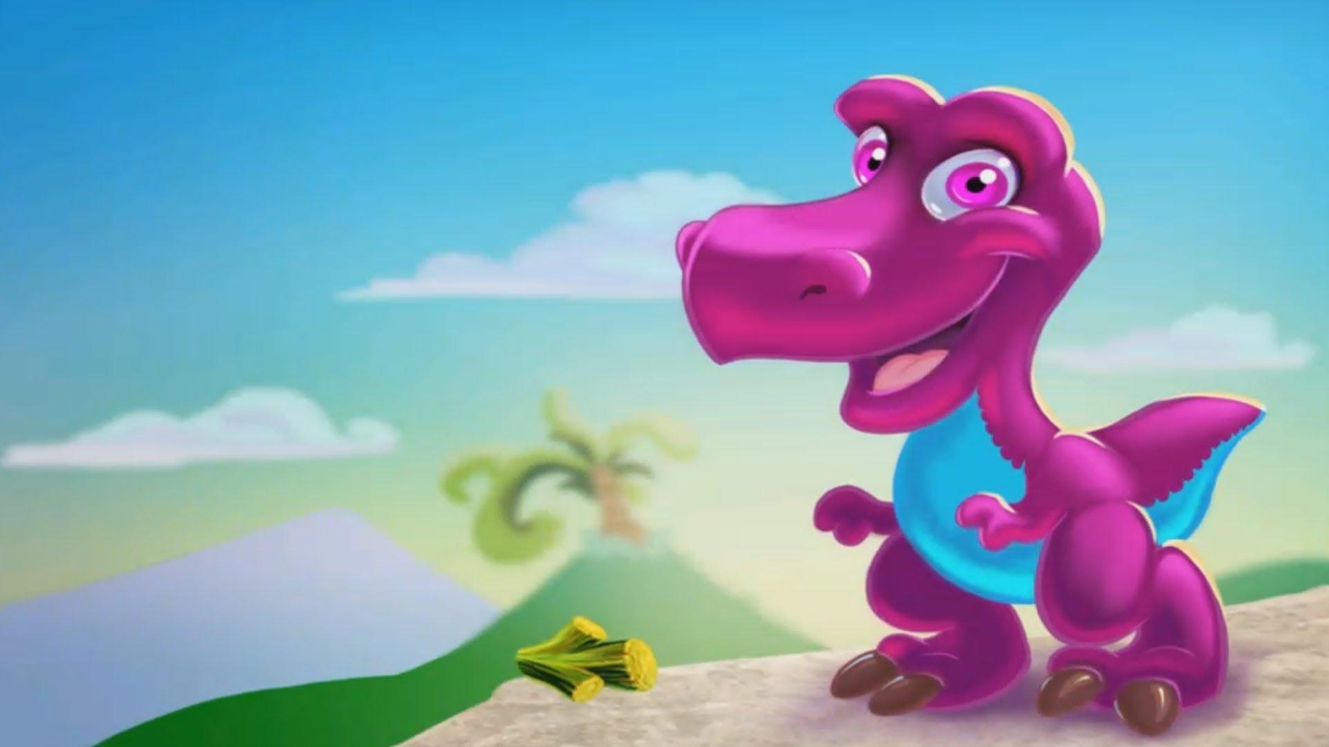 Динозавры мультики для детей от трёх лет