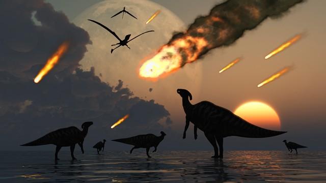 Почему исчезли динозавры, из за чего вымерли динозавры