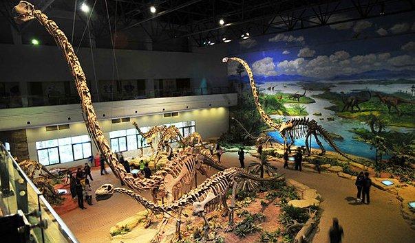 Где посмотреть динозавров в москве
