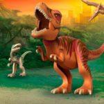 Динозавры игрушечные смотреть онлайн видео