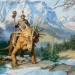 Динозавры и люди жили в одно время, люди и динозавры жили в одно время