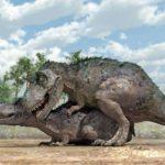 Как динозавры спаривались