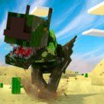 Видео про динозавров майнкрафт, видео майнкрафт динозавры