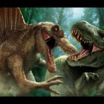 Динозавры битвы, битва динозавров видео