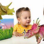 Динозавры развивающее видео для детей