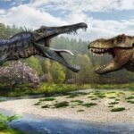 Спинозавр против гигантозавра