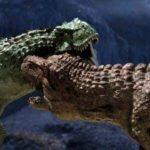Тарбозавр против тиранозавра