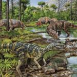 Динозавры меловой период видео