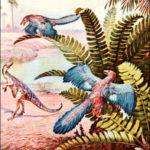 Какой признак свидетельствует о родстве археоптерикса с современными птицами