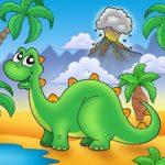 Рисунок динозаврик