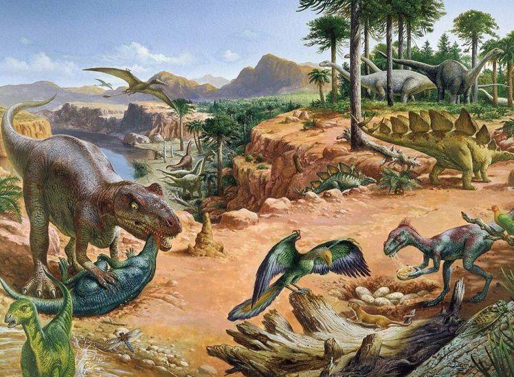 Юрский период, животные юрского периода