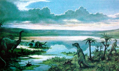 Динозавры триасового периода, животные триасового периода фото
