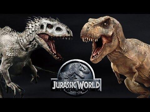 Индоминус рекс против тиранозавра