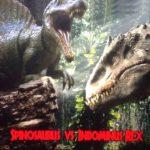 Индоминус рекс против спинозавра