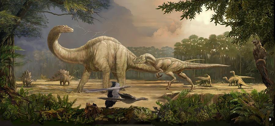 Какое время называют век динозавров