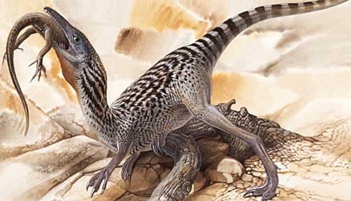 Динозавр компсогнат