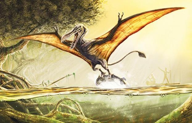 Летающие ящеры, летающий ящер