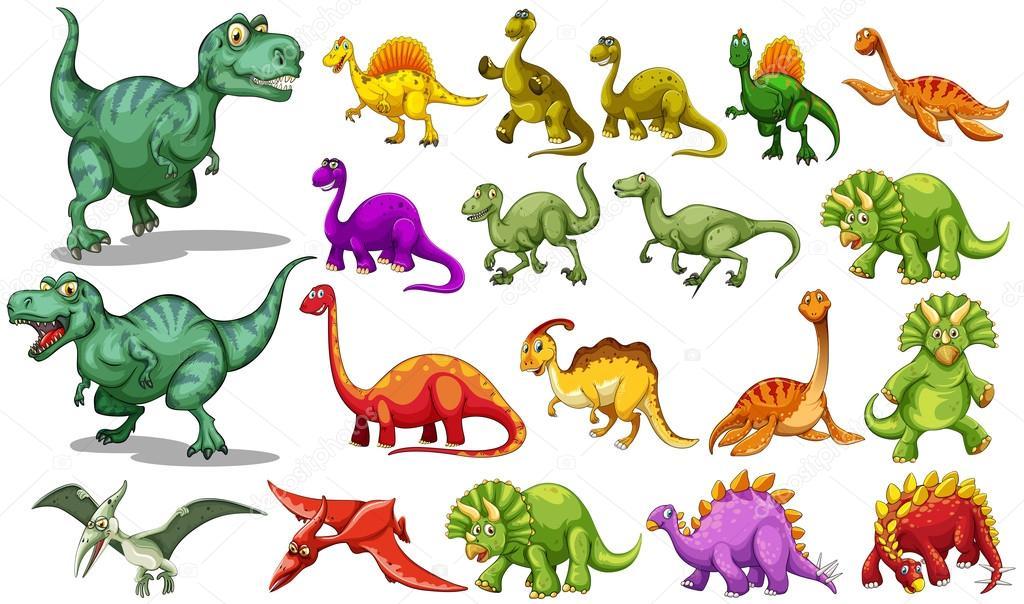 Видео виды динозавров для детей
