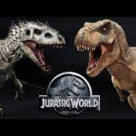 Кто сильнее тиранозавр или индоминус