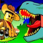Лего охота на динозавров играть онлайн бесплатно