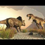Драки динозавров видео