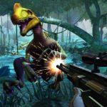 Убивать динозавров игры